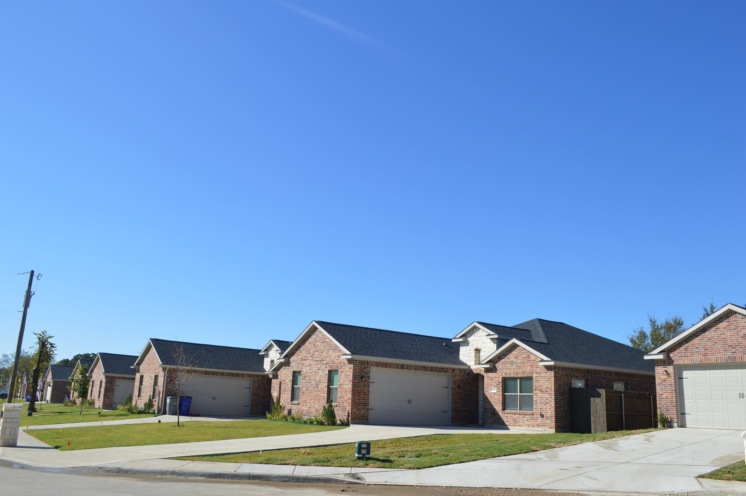 Doty Lane - New homes subdivision (3)