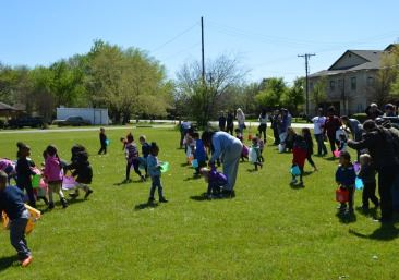 Easter Egg Hunt at the Spring Fling